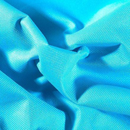 Tissu Toile à sac envers PVC déperlant ultra robuste Bleu turquoise - Par 10 cm