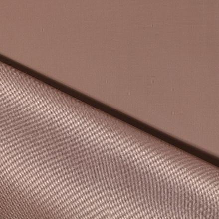 Tissu Toile à sac envers PVC déperlant ultra robuste Taupe - Par 10 cm