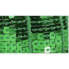 Galon Paillettes 22 mm Vert gazon Paillettes x1m