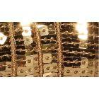 Galon Paillettes 22 mm Or Paillettes x1m