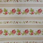 Tissu Toile Coton Beige Petites fleurs Multicolore x10cm