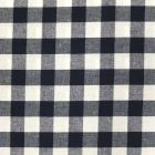 Tissu Vichy Très grands carreaux 17 mm Bleu marine - Par 10 cm