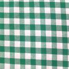 Tissu Vichy Très grands carreaux 17 mm Vert - Par 10 cm