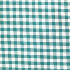 Tissu Vichy Grands carreaux 10 mm Vert - Par 10 cm