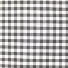 Tissu Vichy Grands carreaux 10 mm Taupe - Par 10 cm