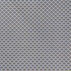 Tissu Coton Imprimé Arty Eventails Bleus - Par 10 cm
