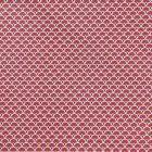 Tissu Coton Imprimé Arty Eventails Bordeaux - Par 10 cm