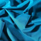 Tissu Coton uni Grande largeur 280cm Santorin Bleu canard - Par 10 cm