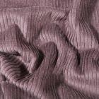 Tissu Velours côtelé uni Taupe - Par 10 cm