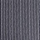 Tissu Crépon Viscose Rayures Blanches sur fond Bleu marine - Par 10 cm