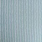Tissu Crépon Viscose Rayures Blanches sur fond Bleu Céladon - Par 10 cm