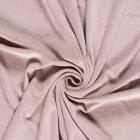Tissu Jersey Velours tout doux Lilas x10cm
