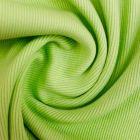 Tissu Bord côte Vert pomme x10cm