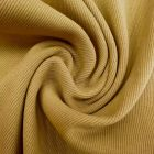Tissu Bord côte Camel x10cm